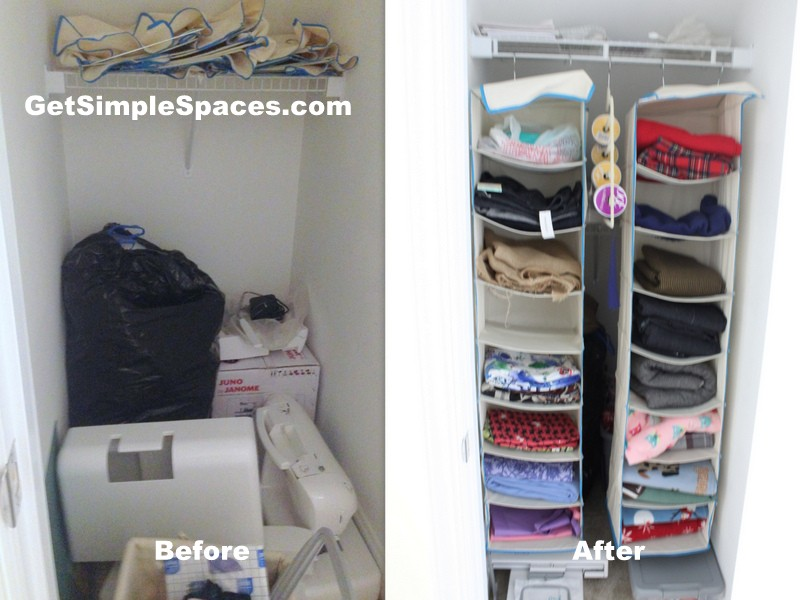 Maximizing Closet Storage