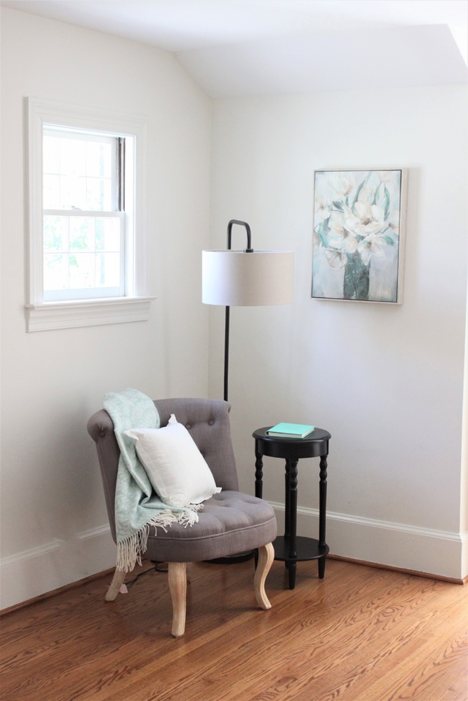 Master Bedroom Renovah Sitting Area