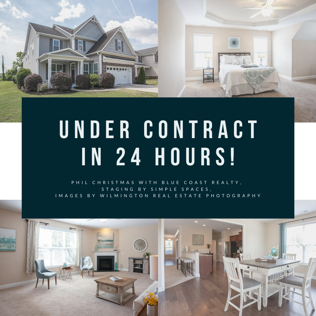 UNDER CONTRACT IN 24 HOURS!