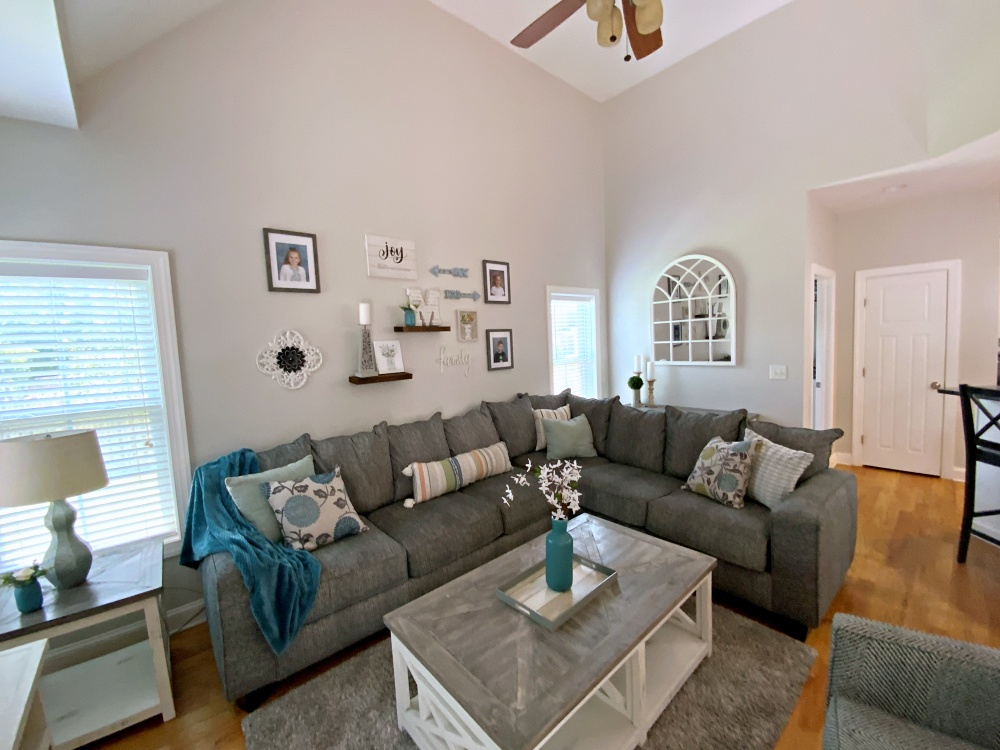 Family room after from left corner