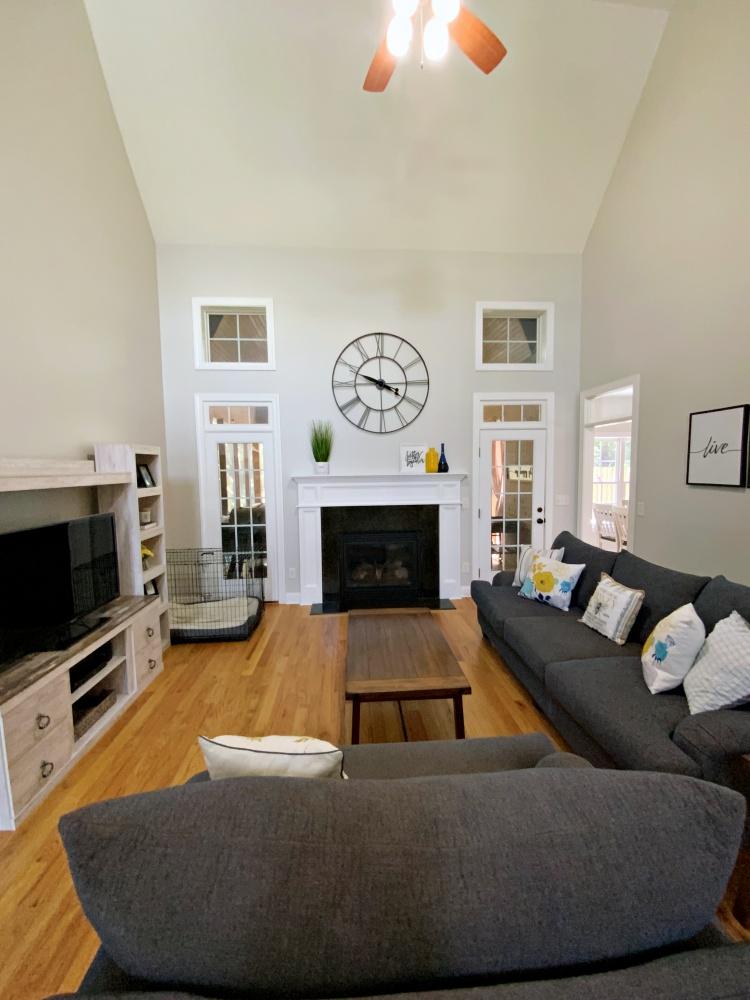 Living room after portrait