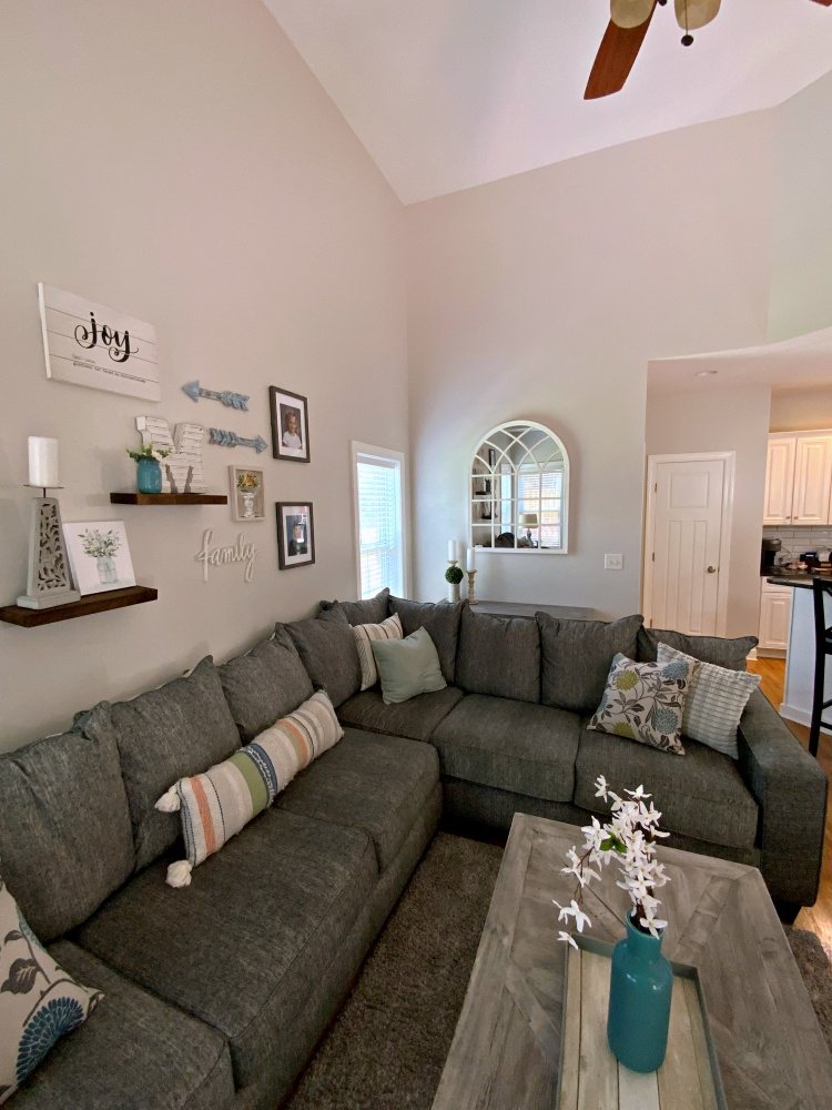 family room after angled from tv portrait