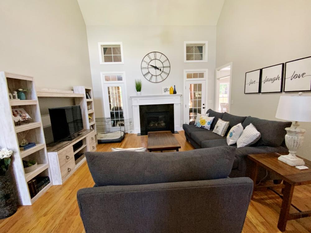 living room after landscape